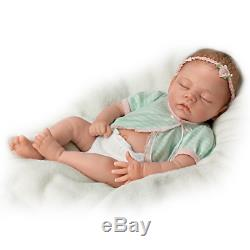 Ashton Drake Linda Murray Adorable Morgan Newborn Baby Doll NEW NIB