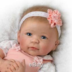 Ashton Drake Linda Murray Ava Lifelike TrueTouch Silicone Baby Doll NEW Gift