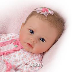 Ashton Drake Linda Murray Baby Doll Katie Breathes Coos And Has A Heartbeat NEW