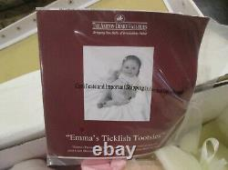 Ashton-Drake Linda Murray EMMA'S TICKLISH TOOTSIES Baby Girl Doll NEW 20 Vinyl