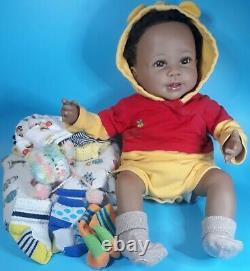 Ashton Drake Linda Murray Just Too Cute Jackson Poseable Lifelike Baby Boy