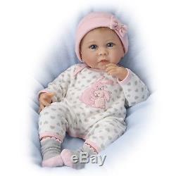 Ashton Drake Linda Murray So Truly Real Somebunny Loves You Baby Doll NEW