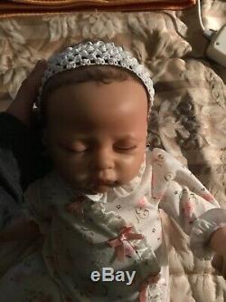 Ashton Drake Linda Murray Sophia Baby Doll Breathes Coos Has a Heartbeat