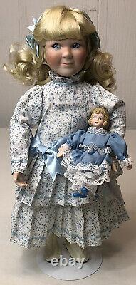 Ashton-Drake Little House on the Prairie Dolls. Lot Of Seven Dolls