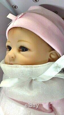 Ashton Drake Little Peanut Lifelike Poseable Baby Doll by Tasha Edenholm