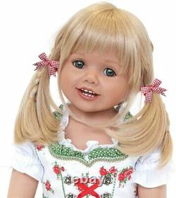Ashton-Drake Louisa Lifelike Child Doll Authentic Bavarian Costume