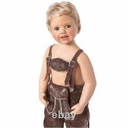 Ashton Drake Luis Boy Child Doll In Bavarian Costume by Monika Peter-Leicht