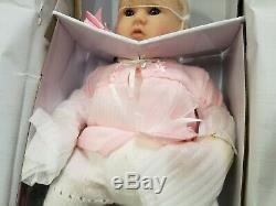 Ashton Drake Marissa May Perfect In Pink Annika Lifelike Baby Girl Doll NOT USED