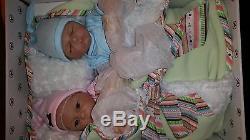 Ashton Drake Mason and Madison twins