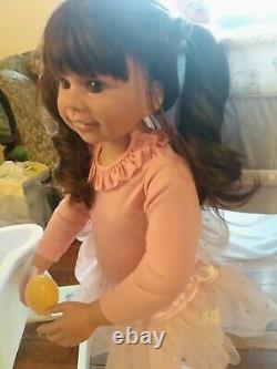 Ashton Drake Masterpiece Lara. Also She's Great For A Reborn Toddler