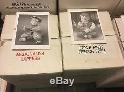 Ashton Drake McMemories Doll Collection 8dolls- NIB