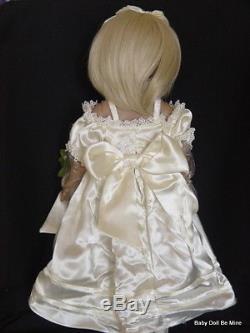 Ashton Drake Megan Rose 18 Vinyl Doll by Linda Rick