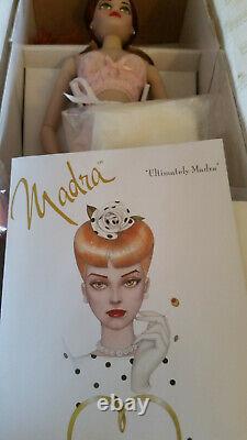 Ashton Drake Mel Odom Doll RED HAIR Ultimately Madra with Shipper and COA