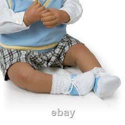 Ashton Drake Michael, I Love You To The Moon And Back Lifelike Baby doll