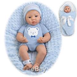 Ashton Drake My Little Guy 18 In Boy Doll RealTouch My Little Ones to Love NEW