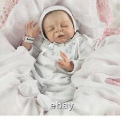 Ashton Drake Newborn World Of Wonder Denise Farmer Cherish Baby Doll In Stock