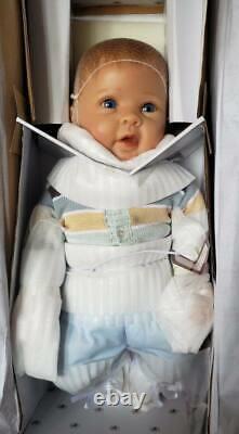 Ashton Drake Noah's Happy As Can Be Boy Baby Doll New NIB Life Like