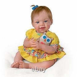 Ashton Drake Owl Always Love You! Lifelike Baby Doll by Waltraud Hanl