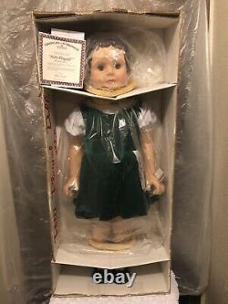 Ashton Drake. Patti Playpal 35 Doll Tagged Green velvet Dress Brunette