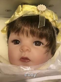 Ashton Drake, Pearls of WisdomVinyl Doll-With Faith, All is PossibleNIB(53)