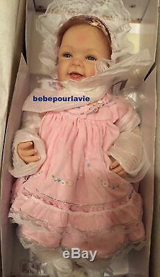 Ashton Drake Pretty In Pink Realistic Baby Girl Doll by Waltraud Hanl