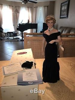 Ashton Drake Princess Diana Porcelain Doll Collection