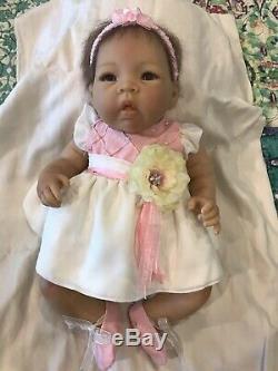 Ashton Drake RealTouch Vinyl Skin Sweet Blossom Baby Doll