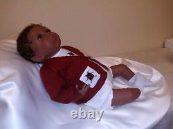 Ashton Drake Reborn Baby Girl Doll Life-Like Jasmine's Homecoming