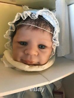 Ashton Drake Retired Jonathan Vinyl Baby Boy Doll By Eva Helland In Stock