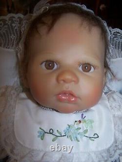Ashton Drake Ruby Baby Doll By Lina Liu In Original Basket Beautiful Doll