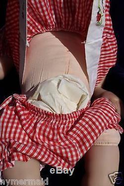 Ashton Drake SANDY FABER Lisa's LadybugReborn Weighted DollTicklishTeethFS