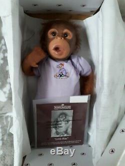 Ashton Drake SILICONE Monkey doll Little Risa by Melissa McCrory