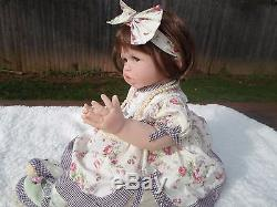 Ashton Drake SO TRULY REAL TOUCH SILICONE DOLL 23