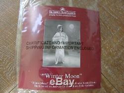 Ashton Drake Sandra Bilitto 22'' Winter Moon Bride Native American Doll Figure
