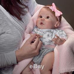 Ashton Drake Sherry Miller Cuddly Coo Interactive Baby Doll That Coos NEW NIB