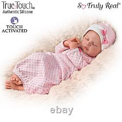 Ashton-Drake Silicone Ina Volprich Breathing Sweet Dreams, Serenity Baby Doll