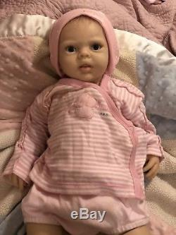 Ashton Drake Silicone Lily Rose Doll (Used) (LOTS of accessories)