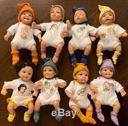 Ashton Drake Snow White and The Seven Dwarfs Baby Set