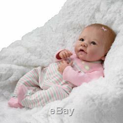 Ashton Drake So Reallove Grows Baby Doll 18 Elizabeth Linda Murray