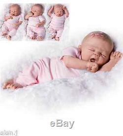 Ashton Drake So Sleepy Sophie Newborn Poseable baby doll
