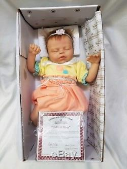 Ashton Drake So Truly Real Baby Of Mine 15 Vinyl Doll COA