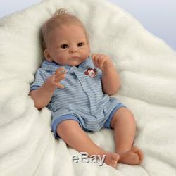 Ashton Drake So Truly Real Benjamin Boy Baby Doll By Tasha Edenholm 17