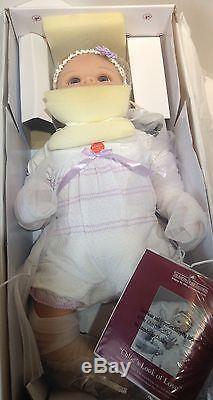 Ashton Drake So Truly Real CHLOE Lifelike Moving Baby Doll