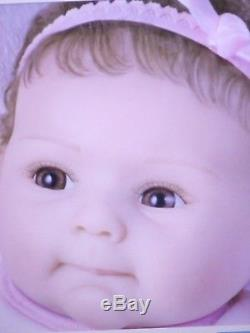 Ashton Drake So Truly Real Daddy's Little Girl Baby Doll reborn Silicone feel