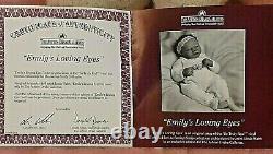 Ashton Drake So Truly Real Doll EMILY'S LOVING EYES Boxed Certificate