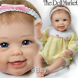 Ashton Drake So Truly Real Hailey Waves Bye Bye baby doll NIB