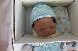 Ashton-Drake So Truly Real Lifelike Charlie Newborn Anatomically Correct Doll