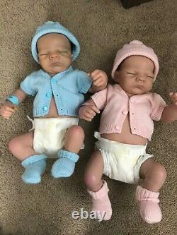 Ashton Drake So Truly Real Twins Charlie and Katie anatomically correct