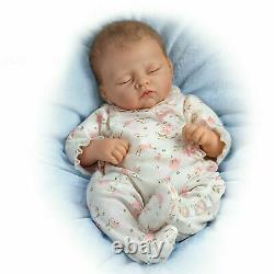 Ashton Drake Sophia Touch-Activated Interactive Baby Girl Doll by Linda Murray