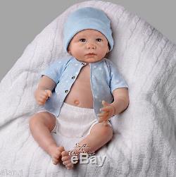 Ashton Drake'Sweet Baby Liam' fully poseable Lifelike baby Doll